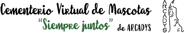 Cementerio virtual de mascotas logo